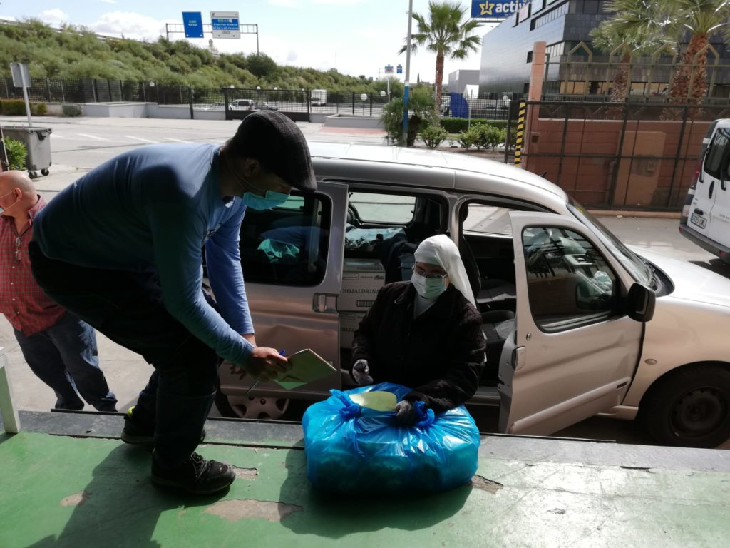 Large food collection for Bancosol (Costa del Sol Food Bank)