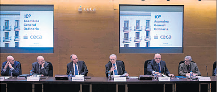 "Fainé asks the banking sector ""to move ahead with the reforms"" in order to be profitable"