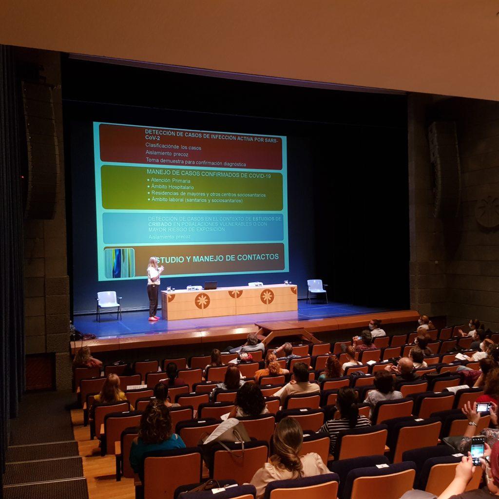 Sesiones formativas para profesionales sanitarios COVID-19