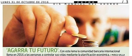 Día Mundial del Ahorro: Historia de una conmemoración
